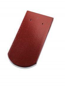 Biberschwanzziegel Rundschnitt Brillanz rosso