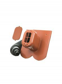 Sanitärlüfter mit Flexschlauch DN 125 - Zubehör für Biberschwanzziegel