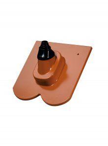 Antennenziegel mit Manschette - Zubehör für Biberschwanzziegel