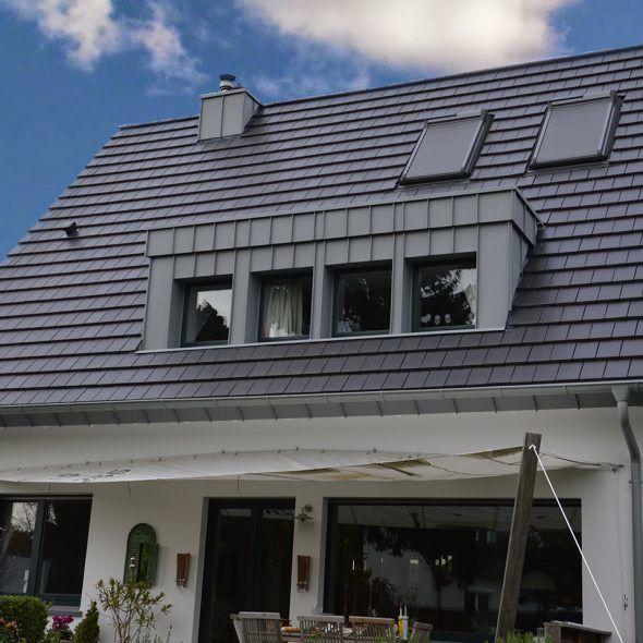 Klassisches Einfamilienhaus mit Flachziegel WALTHER Stylist