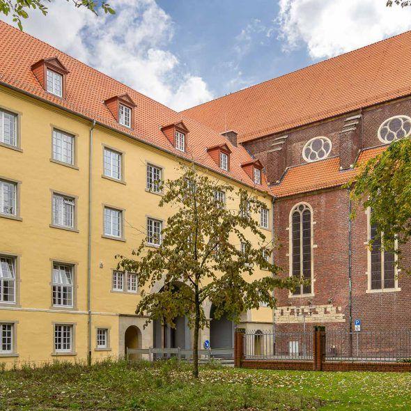 Stadtschloss Coesfeld Hohlfalzziegel Z5 naturrot hell